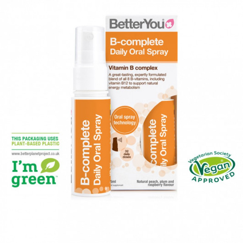 B Complete Oral Spray (25ml), BetterYou