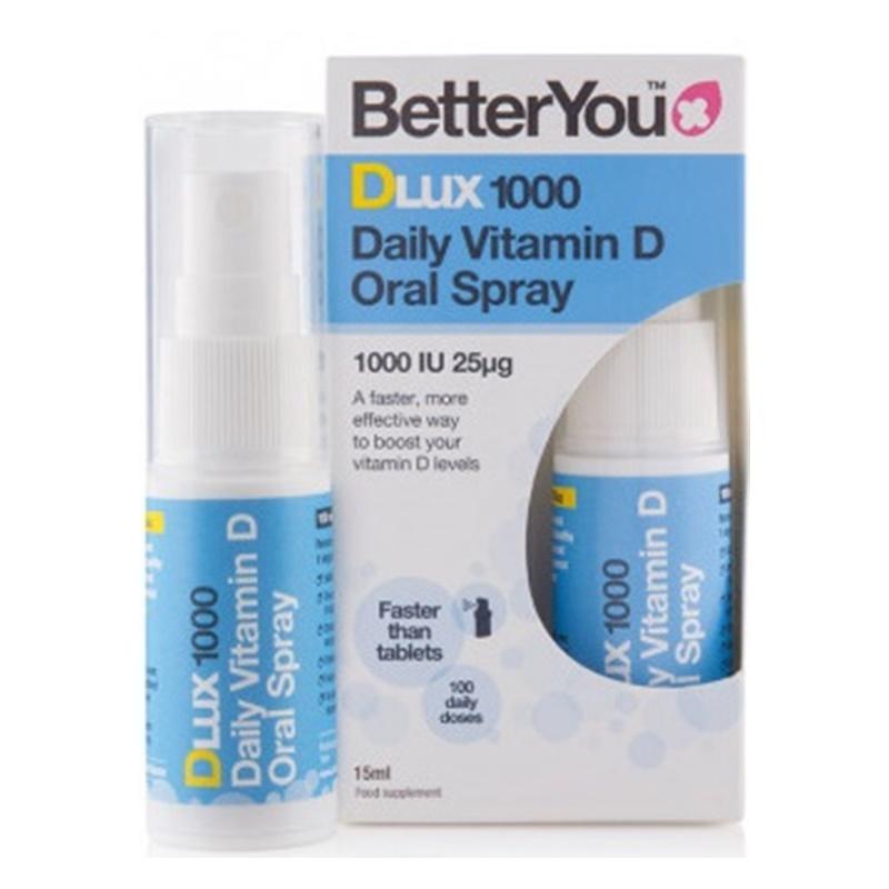 DLux 1000 Vitamin D Oral Spray (15ml), BetterYou