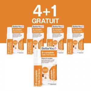 4+1 GRATUIT B-Complete Oral Spray (25ml), BetterYou