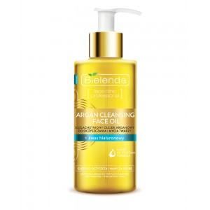 ARGAN CLEANSING FACE OIL with Hyaluronic Acid 140ml