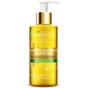 ARGAN CLEANSING FACE OIL with sebum control complex (140 ml)