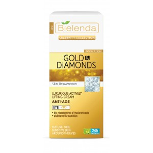 Crema anti-rid contur ochi Gold & Diamonds (15 ml)