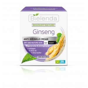 Crema antirid de zi si de noapte cu Ginseng (50 ml)