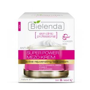 Crema de intinerire anti-rid Super Power Mezo (50 ml) zi/noapte