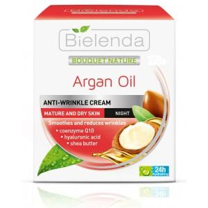 Crema de noapte cu ulei de argan (50 ml)