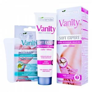 Vanity Soft Expert Set pentru epilat pentru pielea foarte sensibila (100ml)