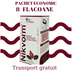 Nikvorm Sirop - Packet Economic 8 flacoane