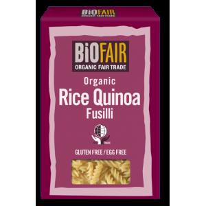 Fusilli din orez si quinoa fara gluten bio (250 grame)