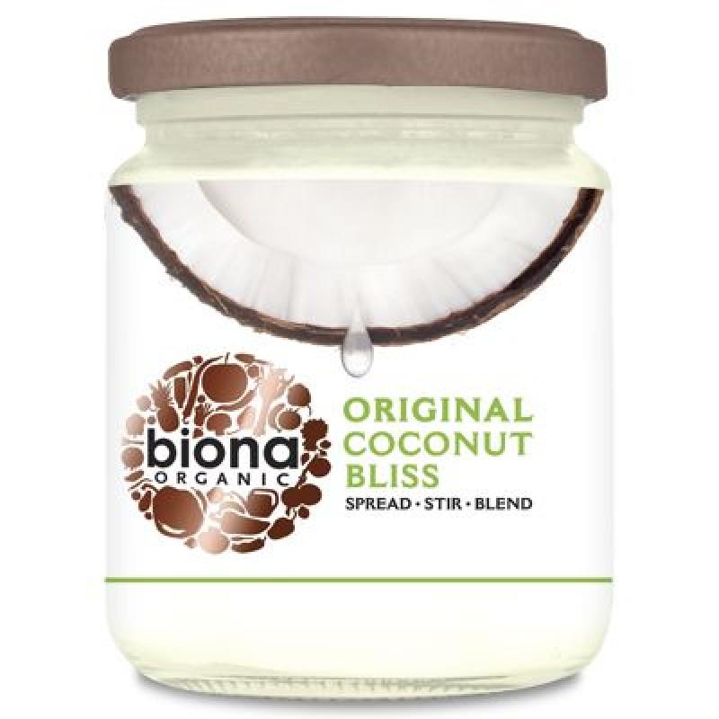 Unt de cocos Coconut Bliss bio (250 grame), Biona