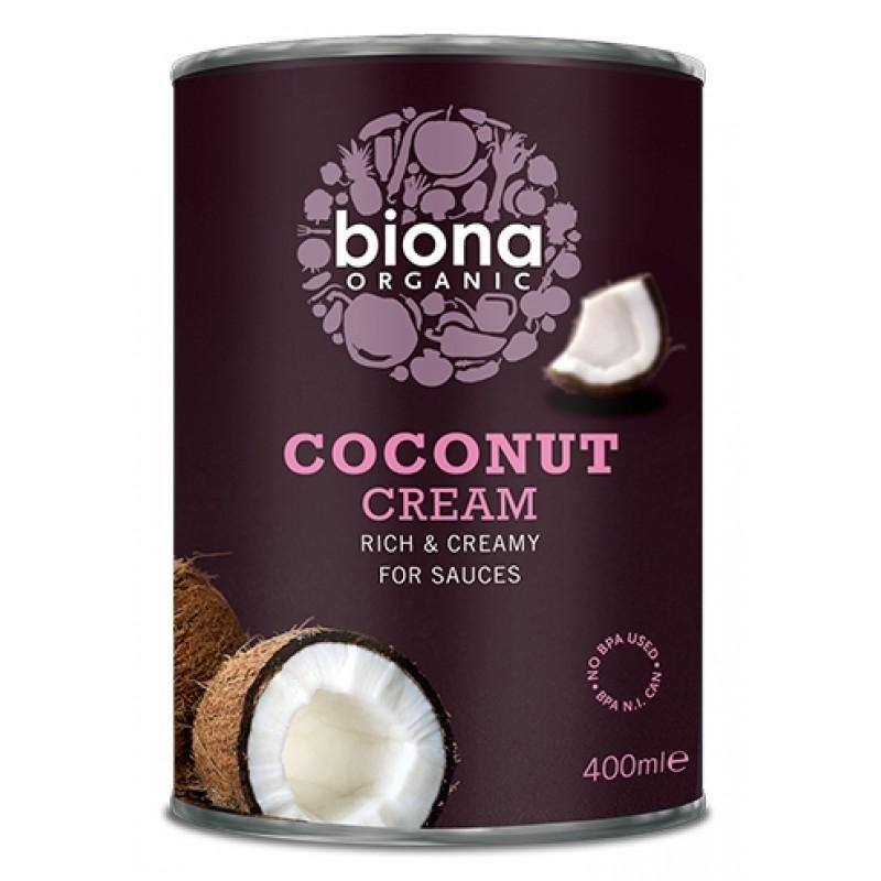 Crema de cocos cutie bio (400 ml), Biona