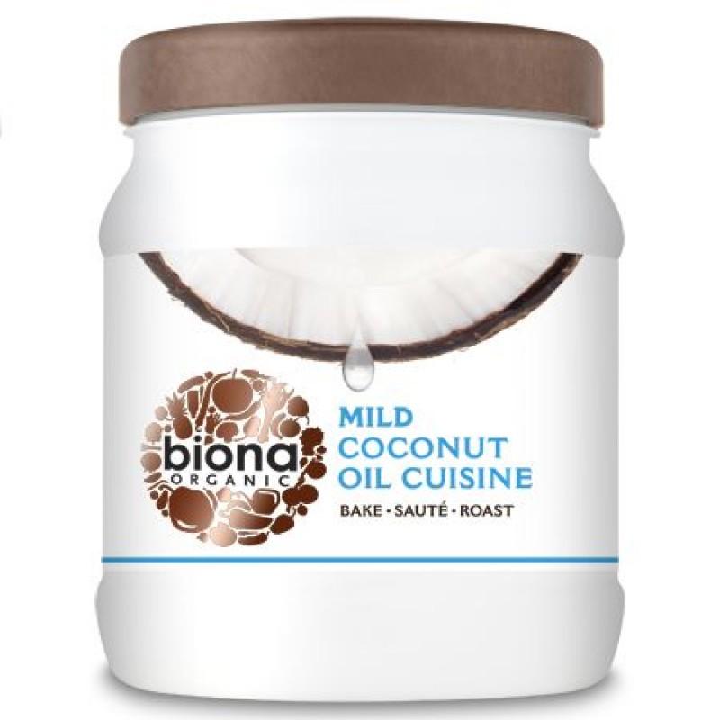 Ulei de cocos dezodorizat pentru gatit bio (800 grame), Biona