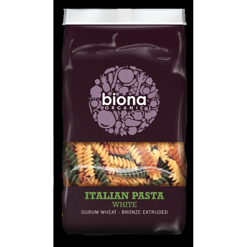 Fusilli tricolore bio (500 grame), Biona