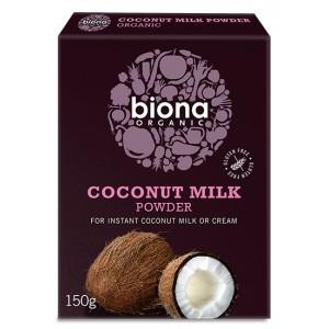 Lapte de cocos praf bio (150 grame), Biona