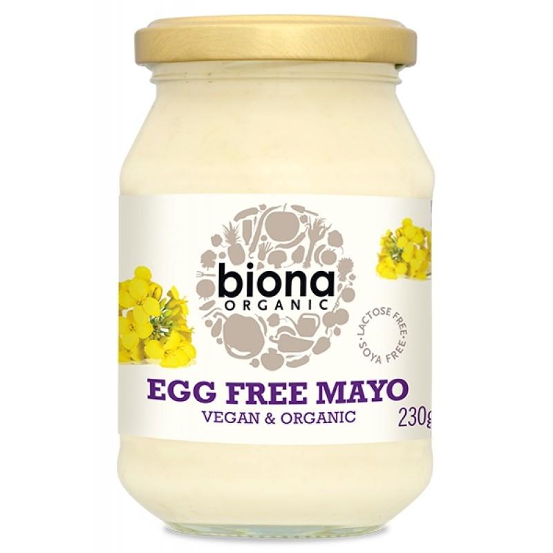 Maioneza fara ou bio (230 grame), Biona