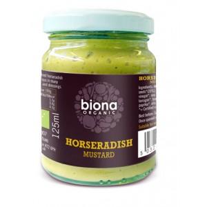 Mustar cu hrean bio (125 grame), Biona