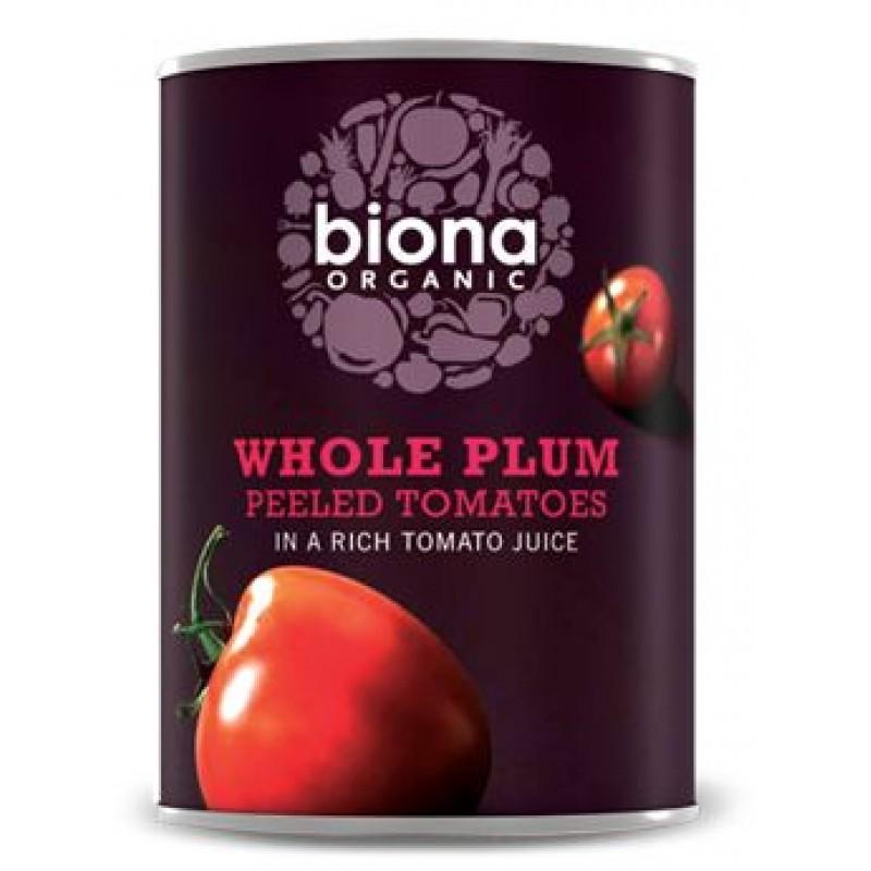 Rosii intregi la conserva bio (400 grame), Biona