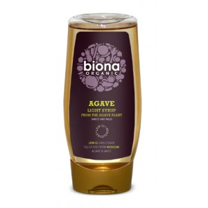Sirop de agave light bio (500 ml), Biona
