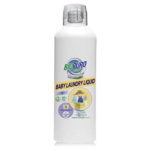 Detergent hipoalergen pentru hainutele copiilor bio (1 litru), Biopuro
