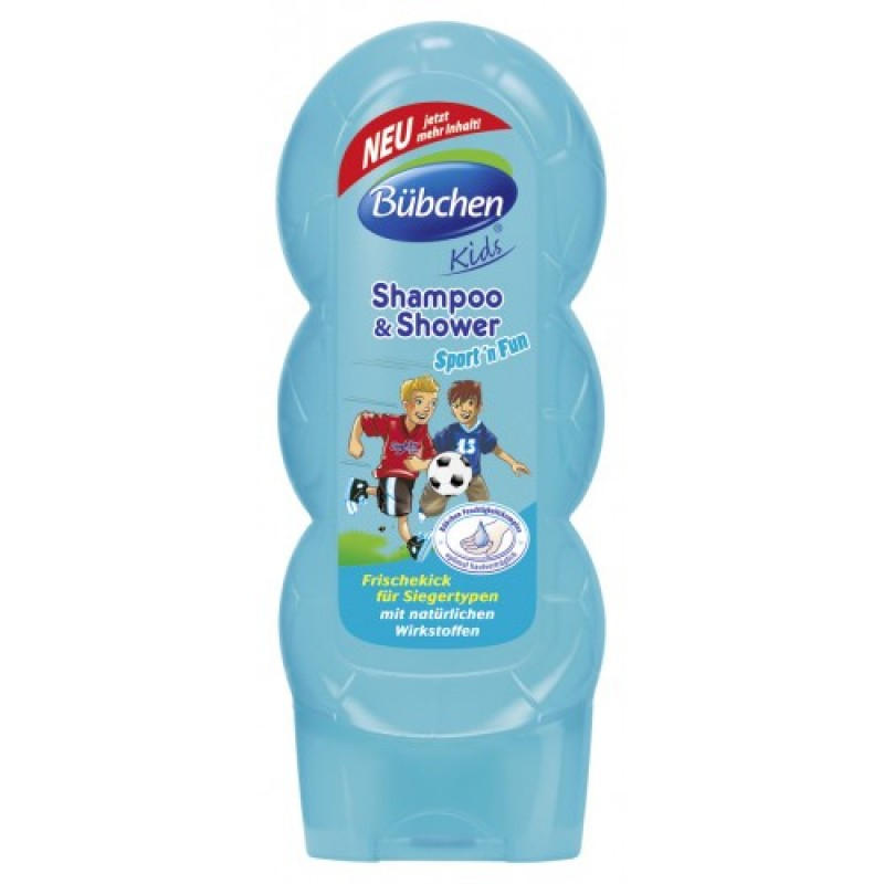 Sampon & Duschgel - Sport & Fun (230 ml), Bubchen