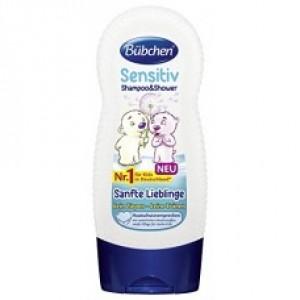 Sampon & Duschgel - Sensitiv (230 ml), Bubchen
