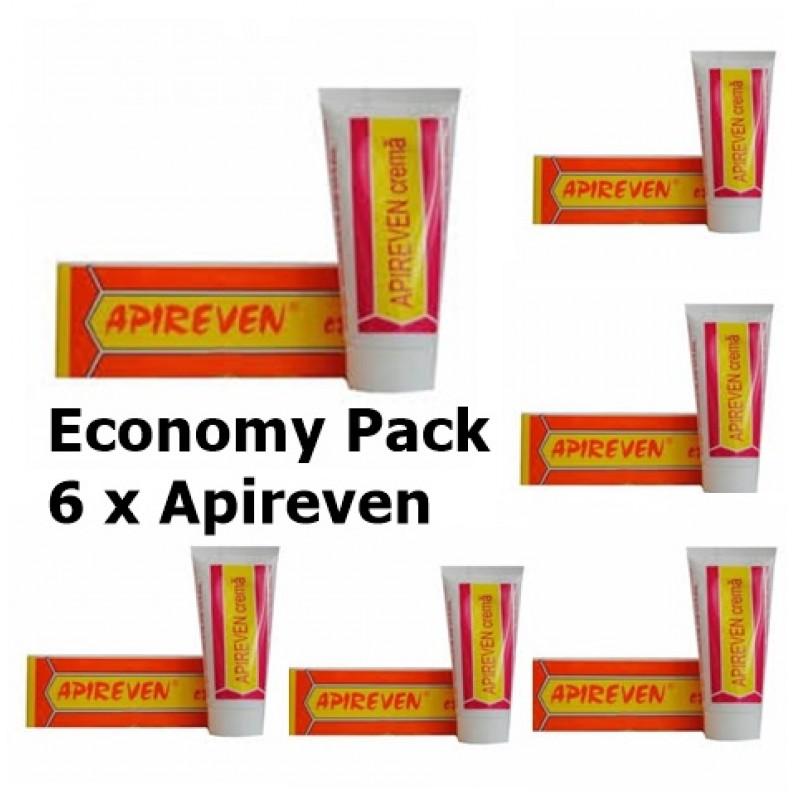 Economy Pack 6 x Apireven unguent cu venin de albine (30 grame), Complex Apicol