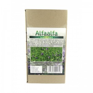 Alfaalfa (lucerna) pudra (125g), Deco Italia