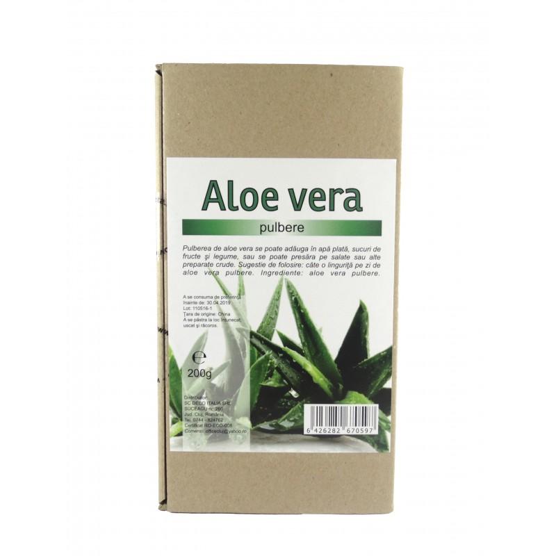 Aloe vera Pulbere (200 grame), Deco Italia