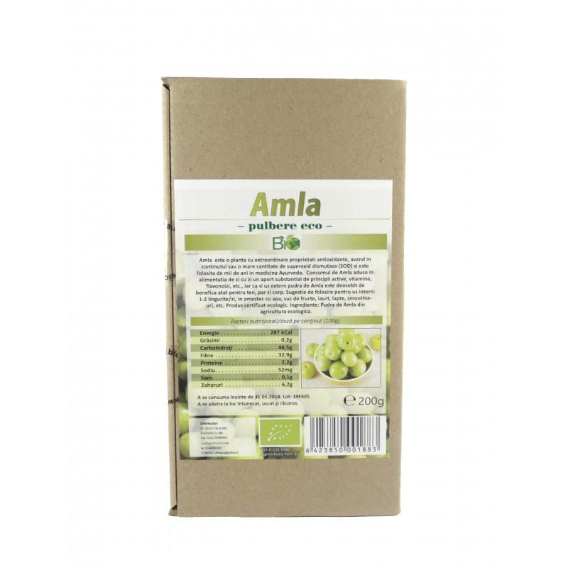 Amla pulbere bio (200g), Deco Italia