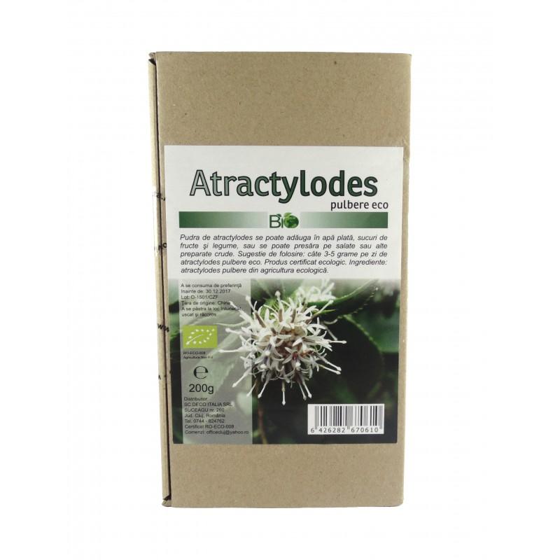 Atractylodes bio pulbere (200 grame), Deco Italia