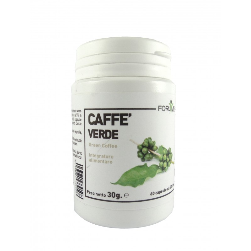 Cafea verde (60 capsule), For Live