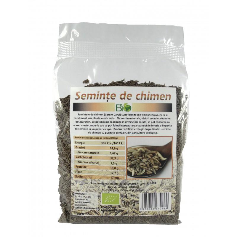 Chimen seminte (100 grame), Deco Italia
