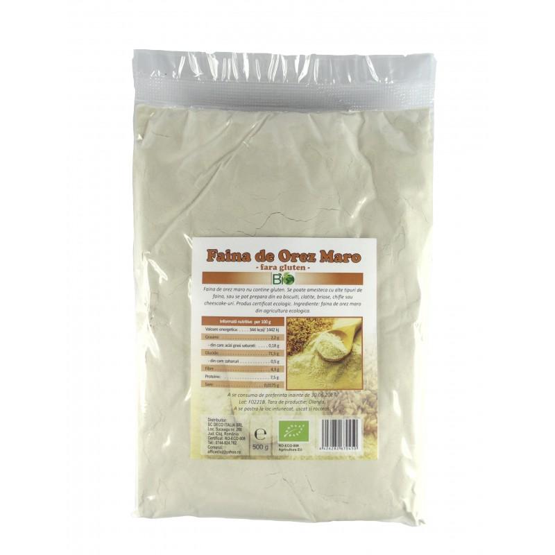 Faina de orez maro fara gluten (500 grame), Deco Italia