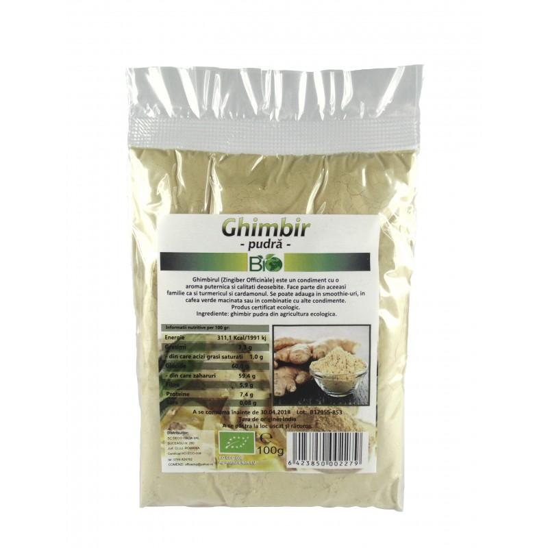 Ghimbir pudra (100 grame), Deco Italia