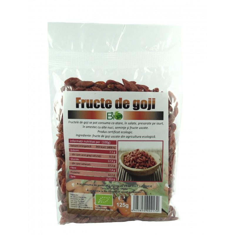 Goji berry premium extra (125 grame), Deco Italia