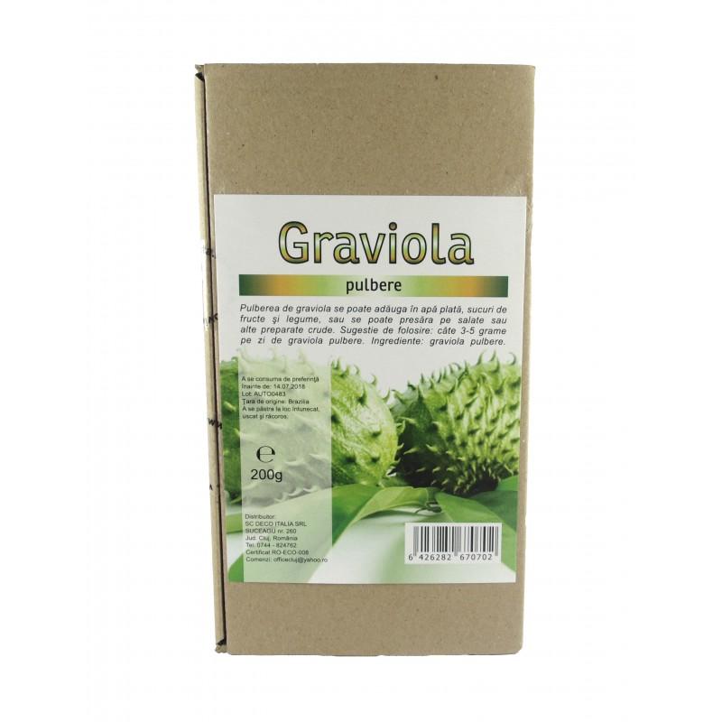 Graviola pulbere (200 grame), Deco Italia