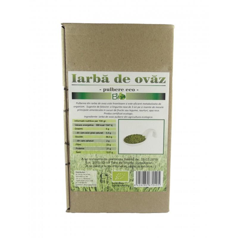 Iarba de ovaz (125 grame), Deco Italia