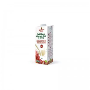 Lapte de quinoa 10% si orez (1 litru), Deco Italia