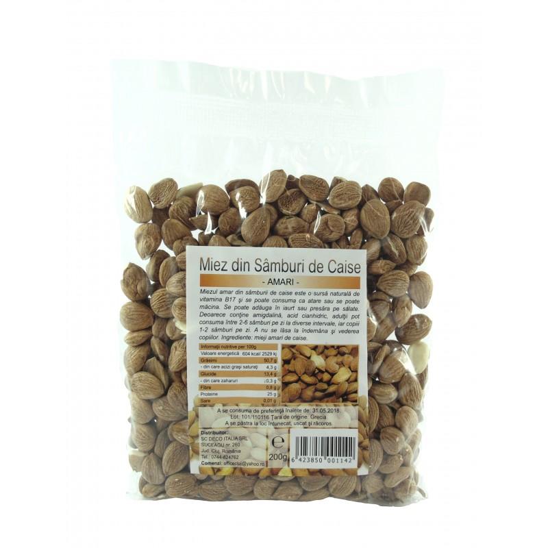 Samburi de caise amare cu vitamina B17 (200 grame), Deco Italia
