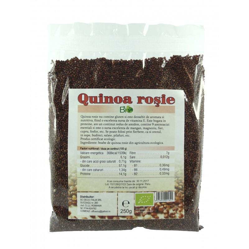 Quinoa rosie (250 grame), Deco Italia