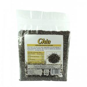 Seminte de chia bio (500 grame), Deco Italia