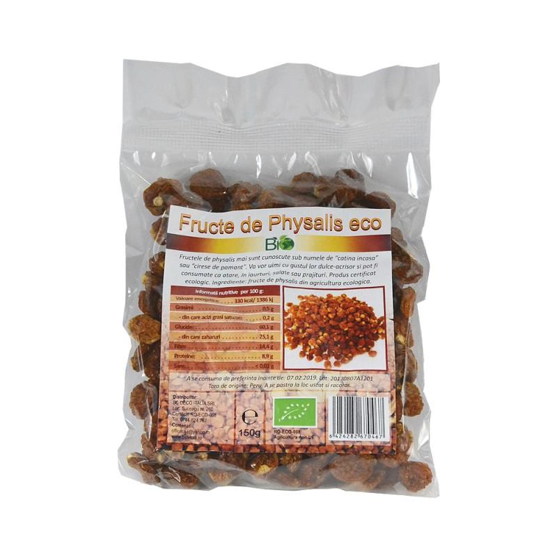 Fructe uscate Physalis eco (150 grame), Deco Italia