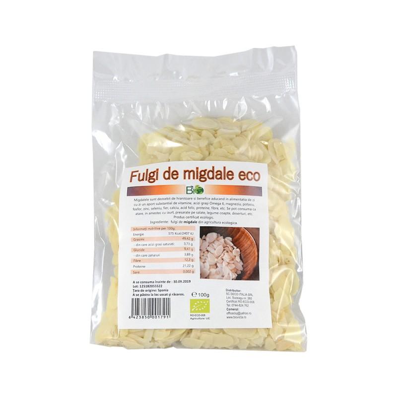 Fulgi de migdale (100 grame), Deco Italia
