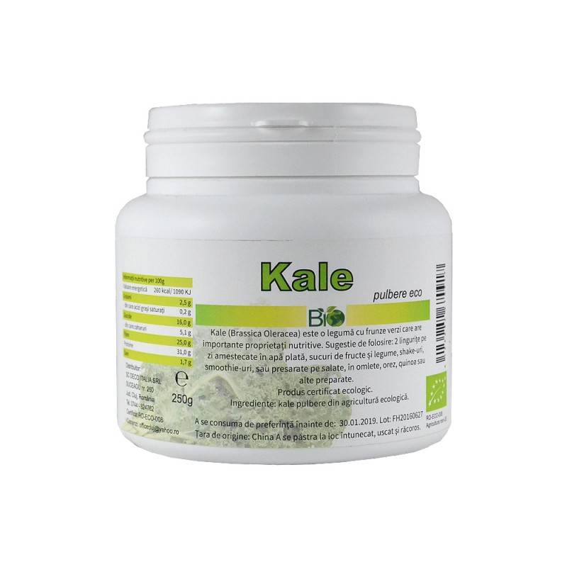 Kale pudra (250grame), Deco Italia
