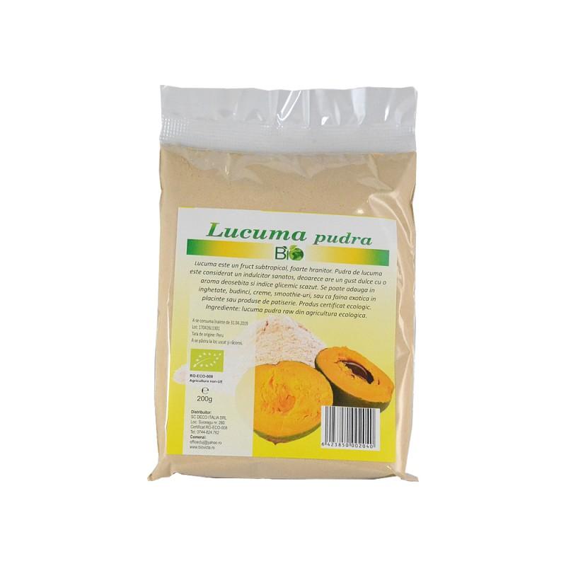 Lucuma pudra (200 grame), Deco Italia