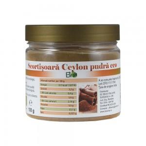 Scortisoara pudra Ceylon (100 grame), Deco Italia