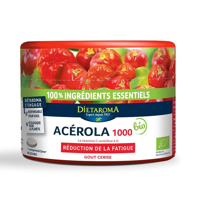 Acerola 1000mg (60 comprimate), Dietaroma
