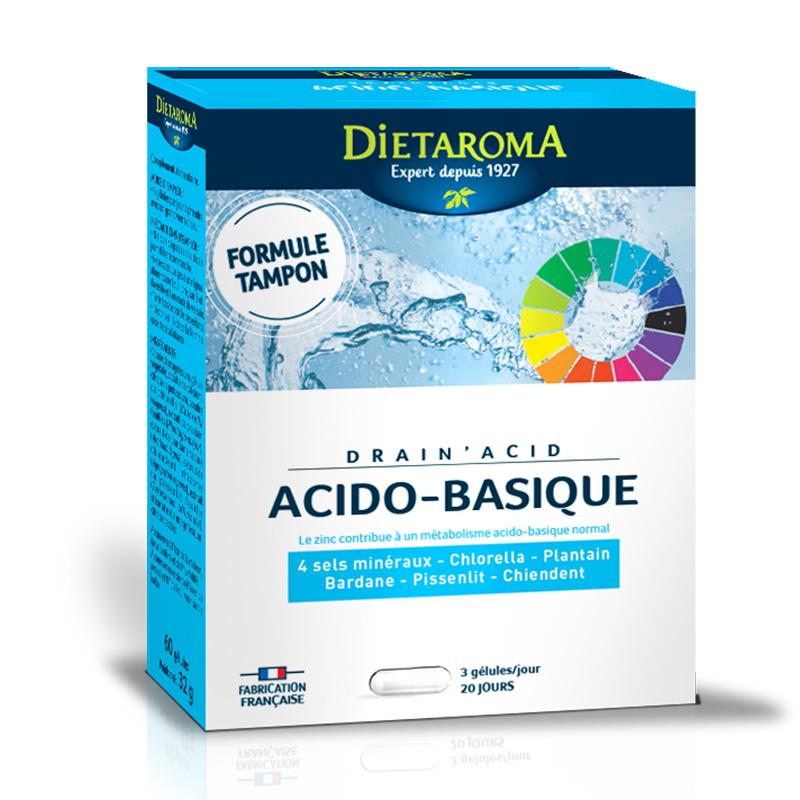 Drain Acid Acido-Basique (60 comprimate), Dietaroma