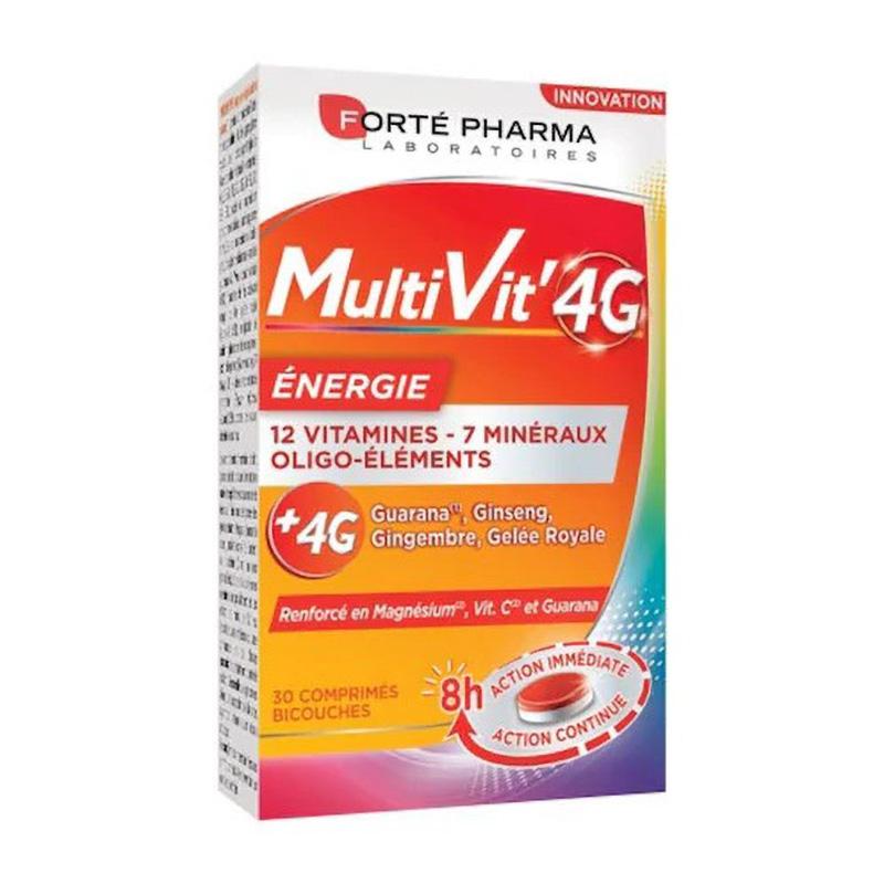 MultiVit 4G Energie (30 tablete), Forte Pharma
