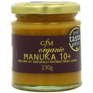 Miere de Manuka +10 raw bio (230 grame), GMF