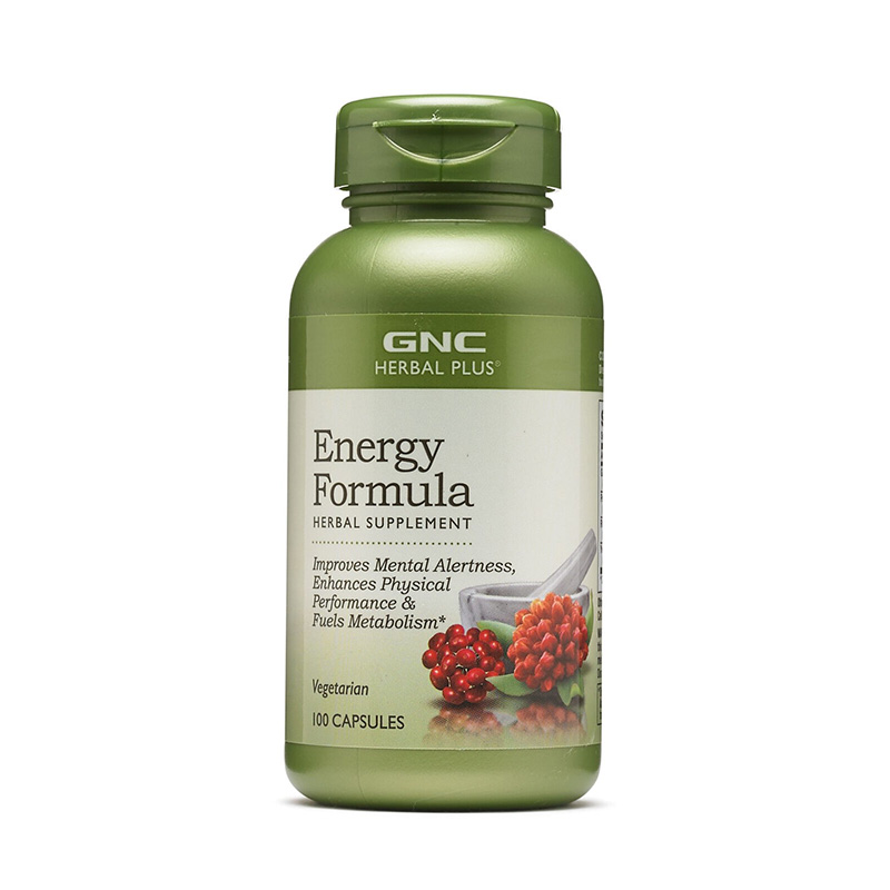 Formula pentru energie (100 capsule), GNC Herbal Plus